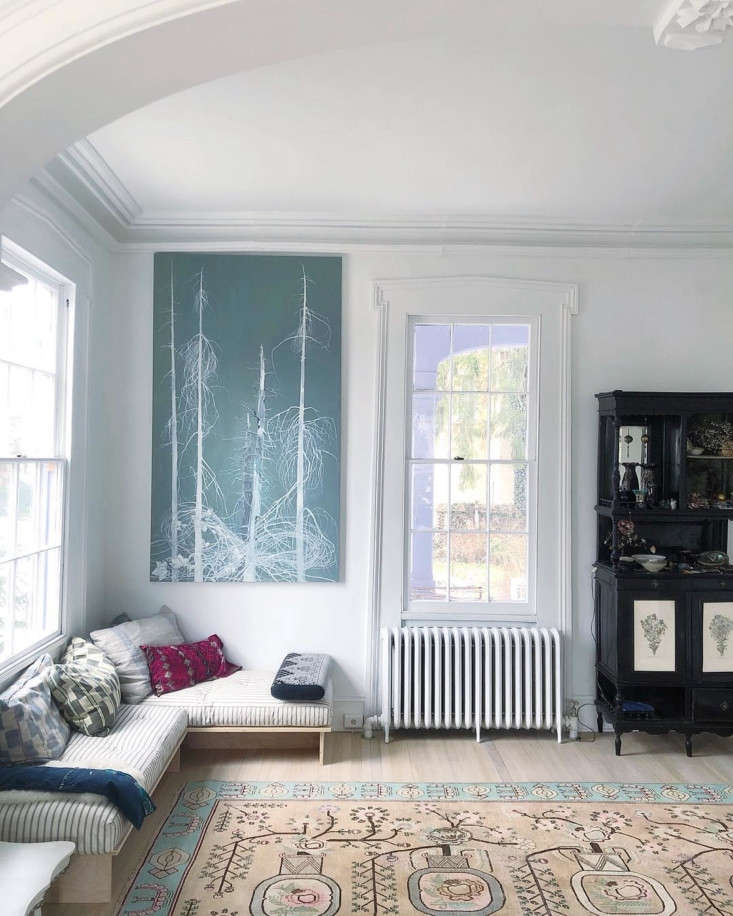 Amy Ilias of the Lavender Ghost, Living Room Corner