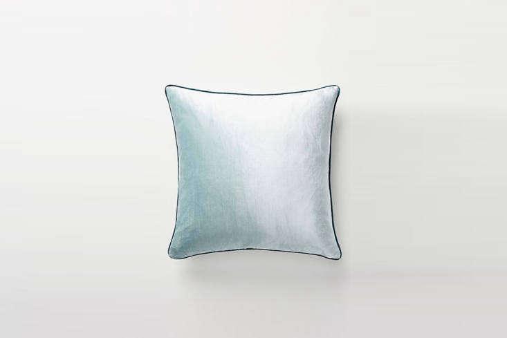 Anthropologie Adelina Slub Velvet Pillow