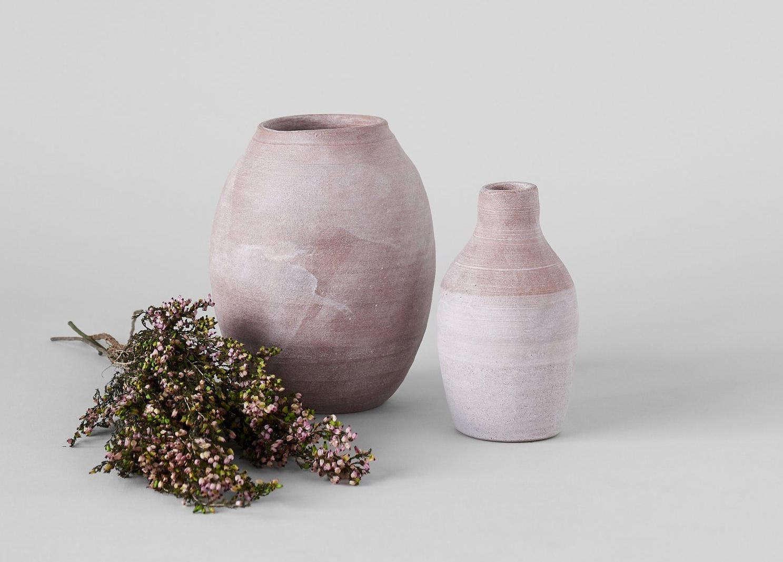 peter sheldon terracotta vase crop