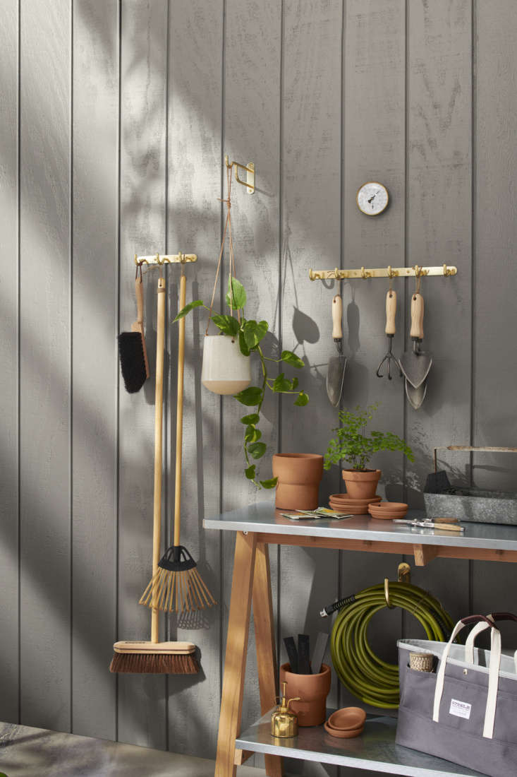 We're coveting Rejuvenation's assortment of good-looking, hard-wearing gardening tools, including a Potting Trowel ($64), Forged Trowel ($59) , and Three-Tine Cultivator ($64).