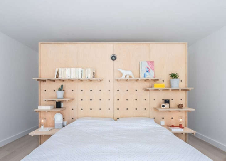 Sacha Apartment by Sabo Project in Paris, Bedroom
