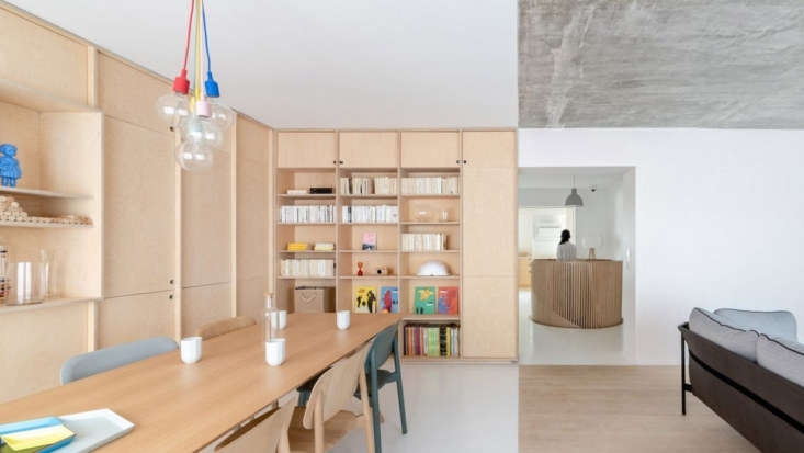 Sacha Apartment by Sabo Project in Paris, Dining
