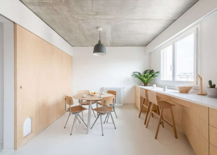 Sacha Apartment by Sabo Project in Paris, Kitchen