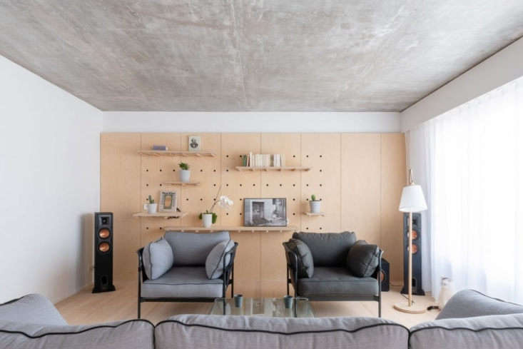 Sacha Apartment by Sabo Project in Paris, Living
