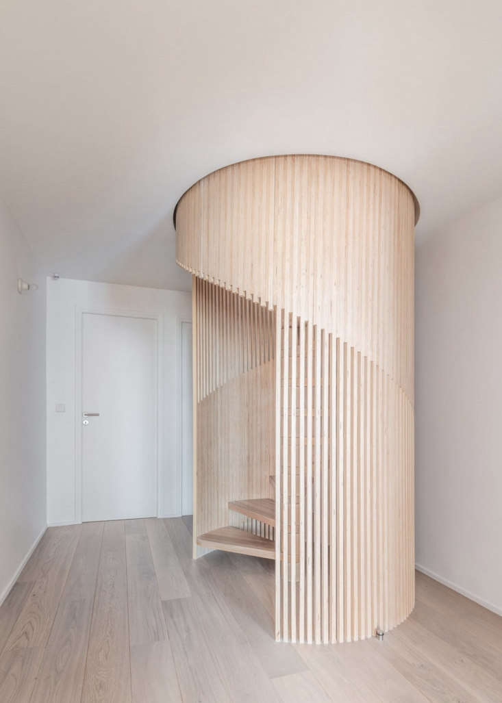 Sacha Apartment by Sabo Project in Paris, Stairs
