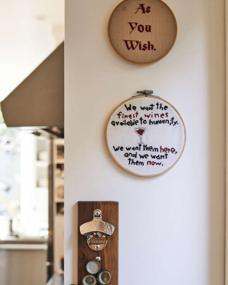 Dash and Bella Phyllis Grant Kitchen, Needlepoint
