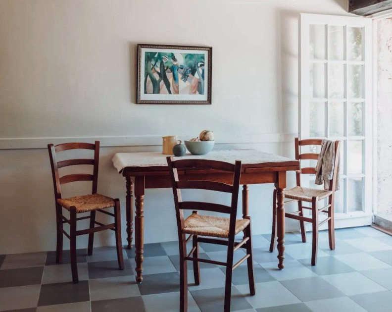 karen mccartney hilltop barn airbnb duras france kitchen