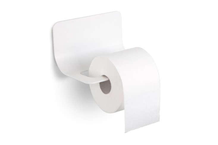 Curva toilet paper holder.