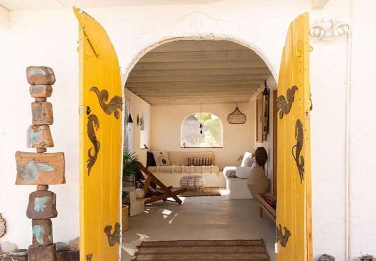merchant house high desert front door