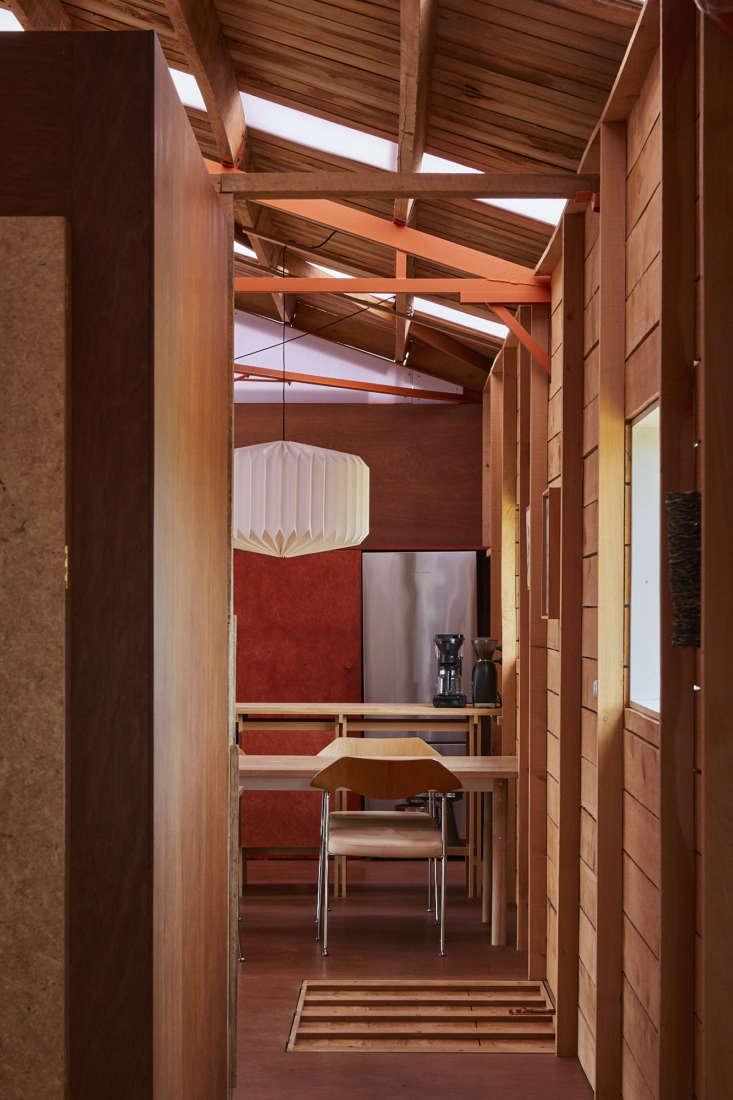 Shearing shed, architect Ben Daly, Palace Electric, Canterbury, NZ. Sam Hartnett photo.