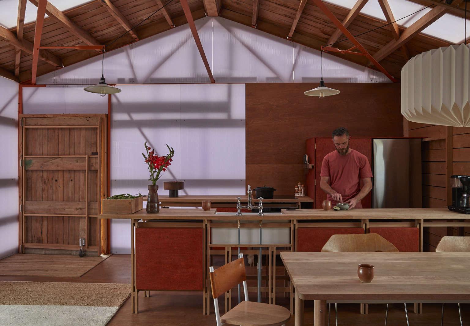 shearing shed kitchen ben daly palace electric 6