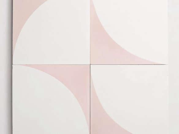 Cement Arc White + Mocha Square 8 in. x 8″ in. x 5/8″ in.