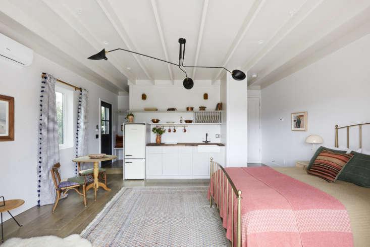 Converted garage guest house, LA, Shanty Wijaya, Allprace Homes.