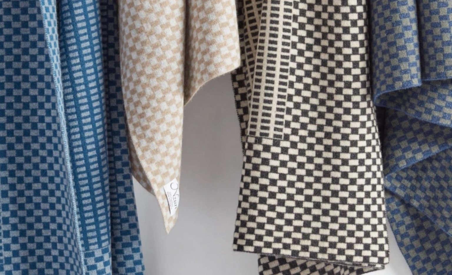 nzuri textiles cashmere throws