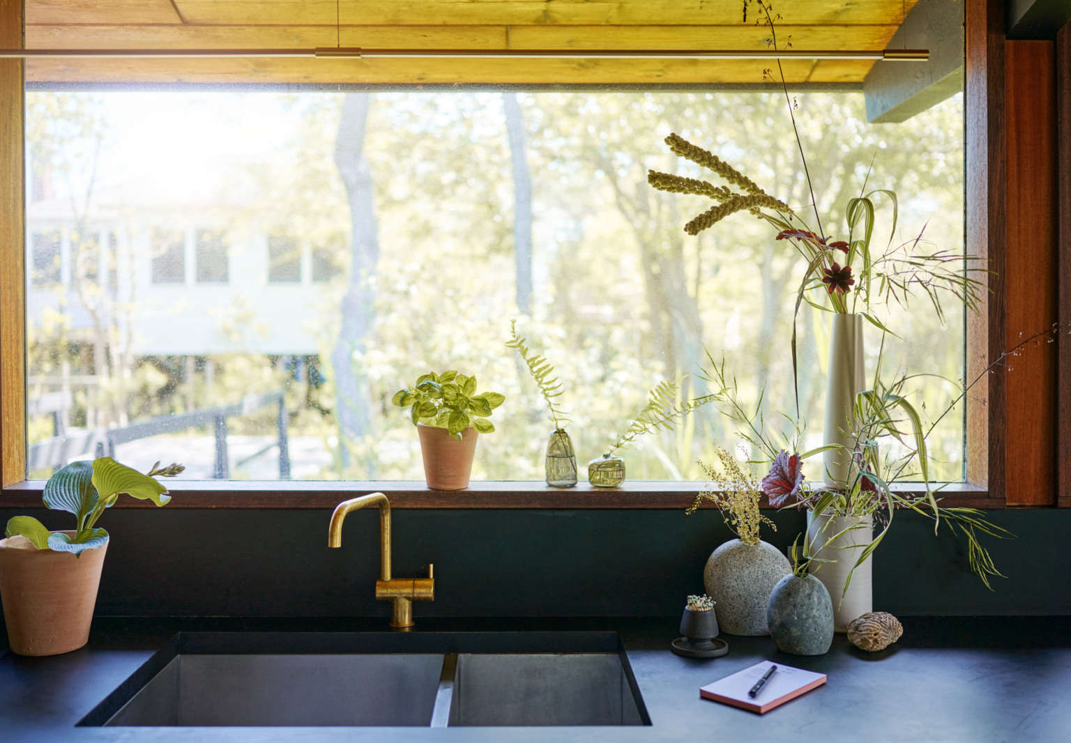 bloomist naturalist refuge kitchen troy house