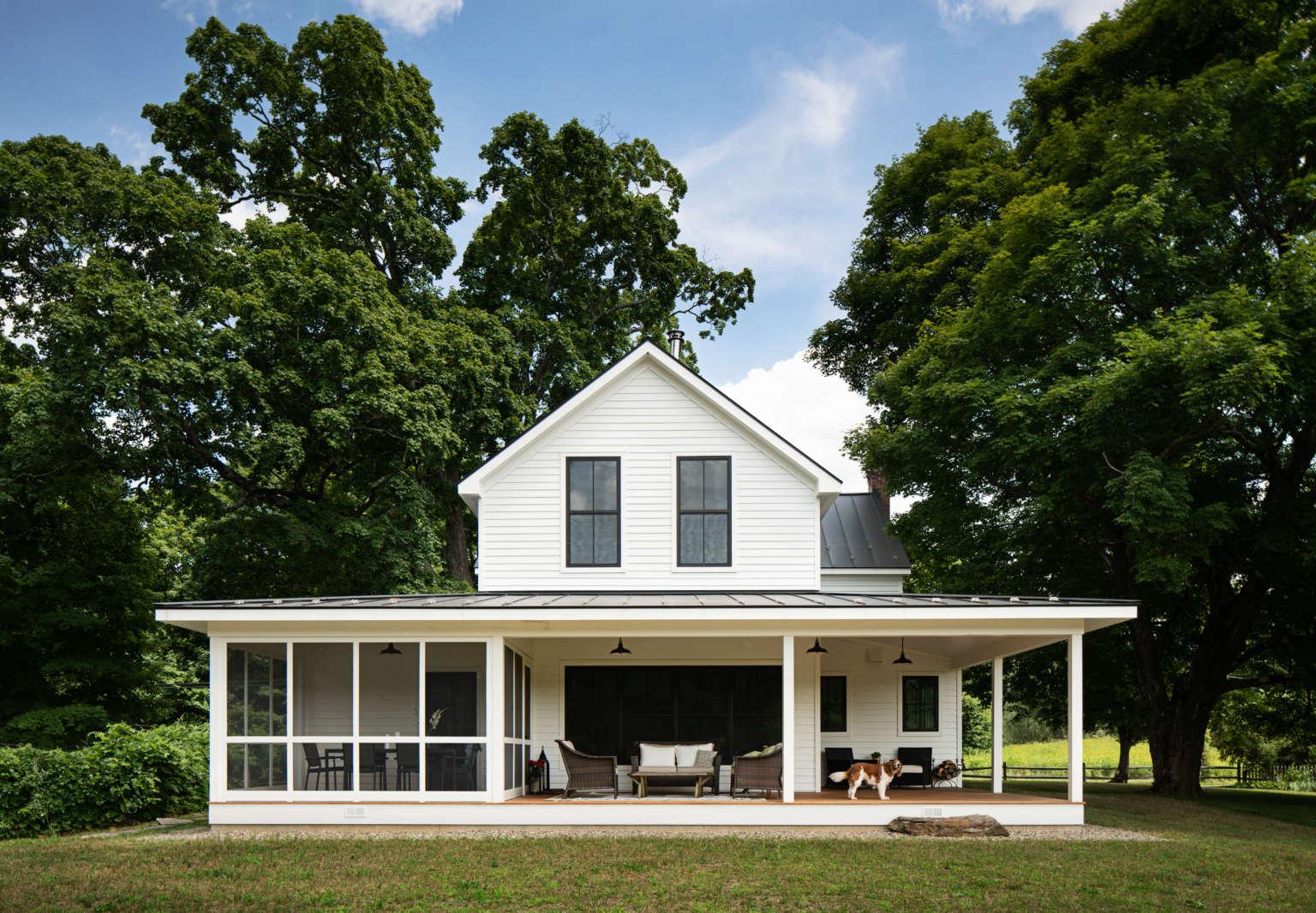 dutchess county ny farmhouse remodel by architect jill singer 1