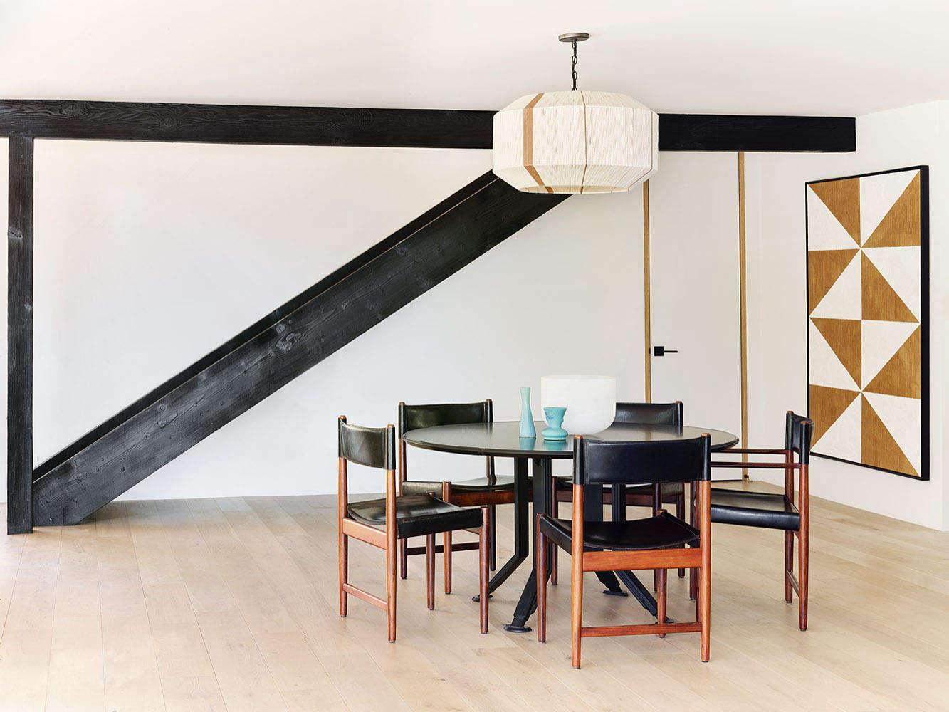 romanek design studio malibu house dining