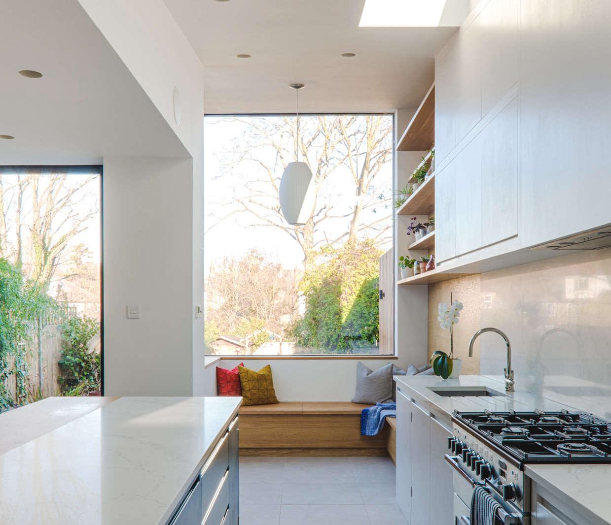 Kitchen of the Week A Sleek Modern Kitchen with a Hippie Heart portrait 3