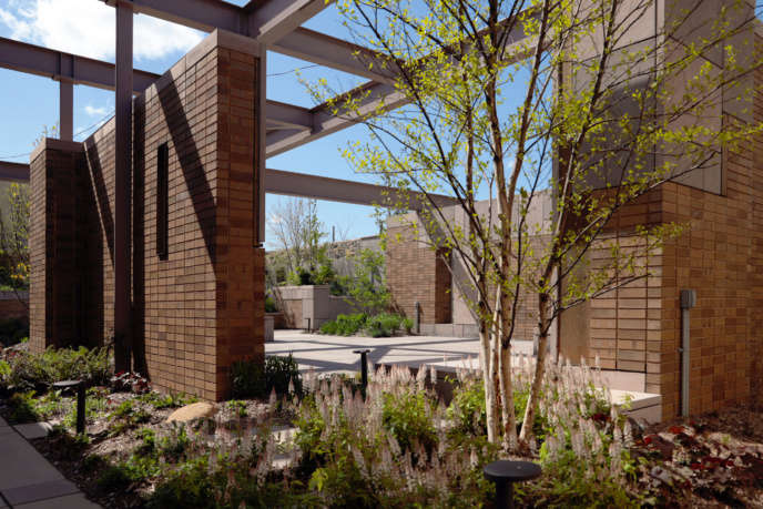Carroll Hall garden and event space in Brooklyn by Dameron Architecture