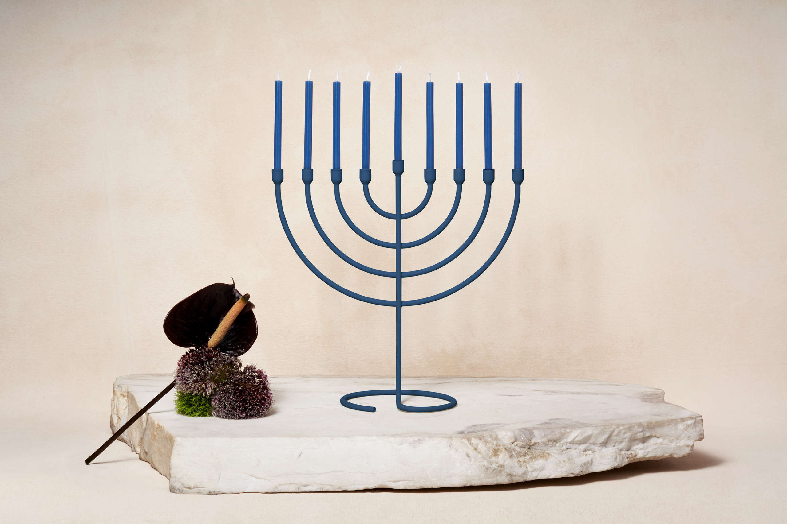 Modern Menorahs And Other Contemporary Judaica From Via Maris