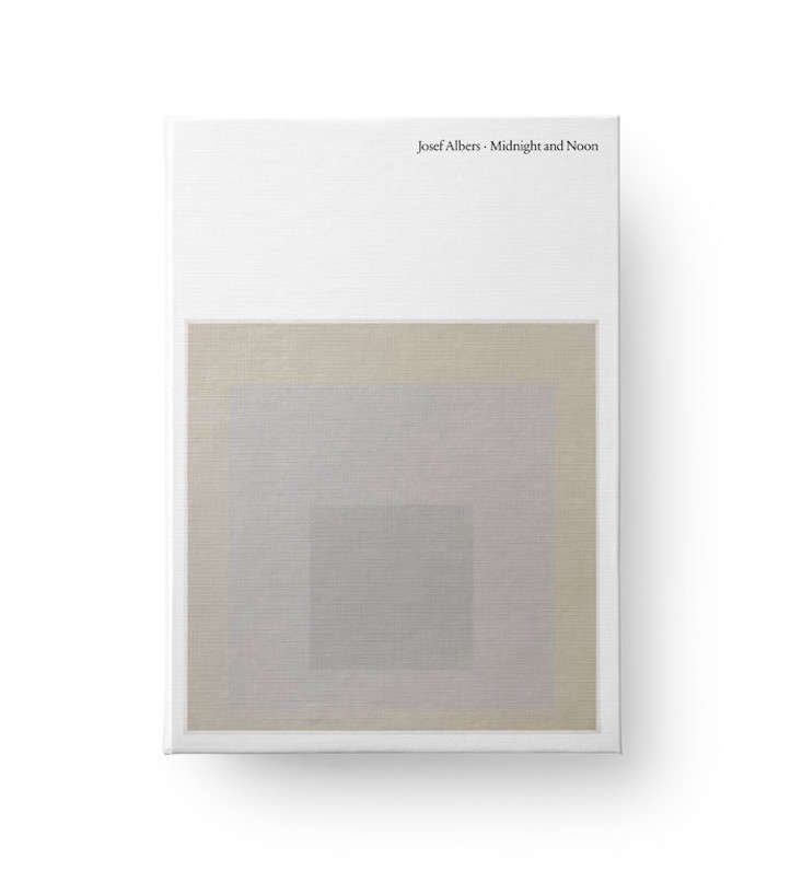 josef albers midnight and noon, a hardcover catalogue from david zwirner books, 14
