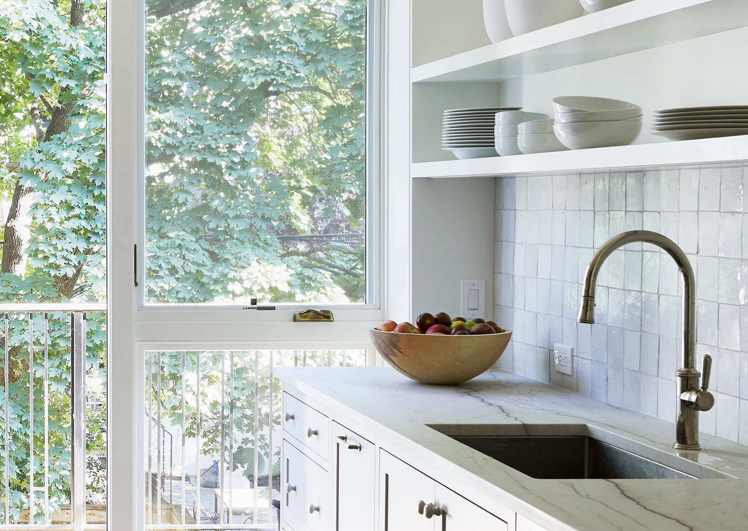 Kitchen of the Week A Bright Addition with a Pantry Portal for a Narrow Townhouse in Brooklyn portrait 3