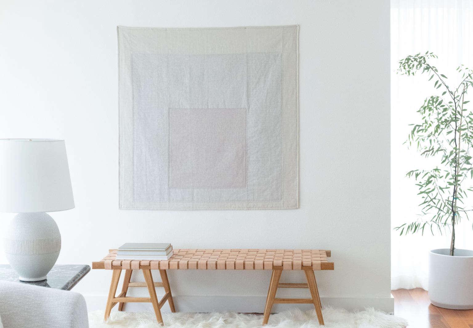 lisa staton design josef albers inspired minimalist quilt first hill condo seattle 1 2 1536x1066