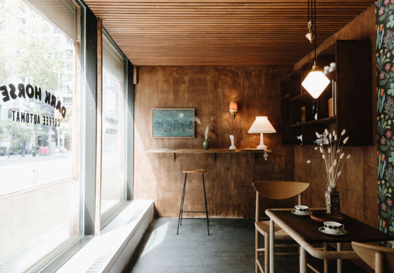 mjolk dark horse cafe interior
