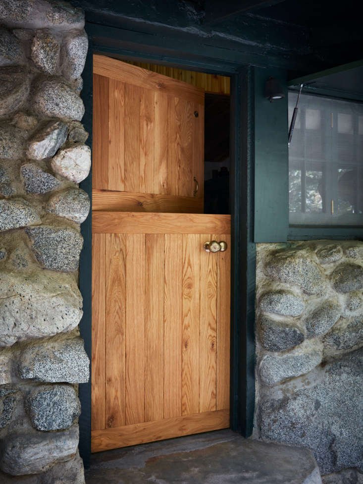&#8\2\20;the solid white oak dutch door is new, and we worked with van cron 10