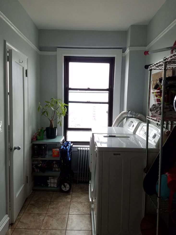 one of the staff rooms was used as a utility closet. 23