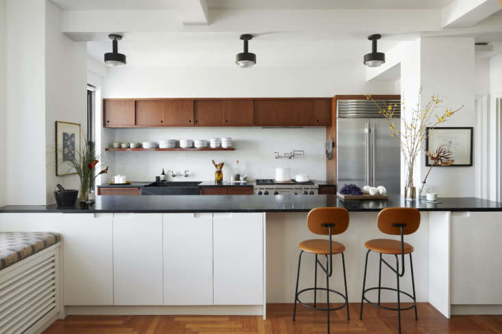 tiny no more, the kitchen, inspired by california mid century design, is now ce 11
