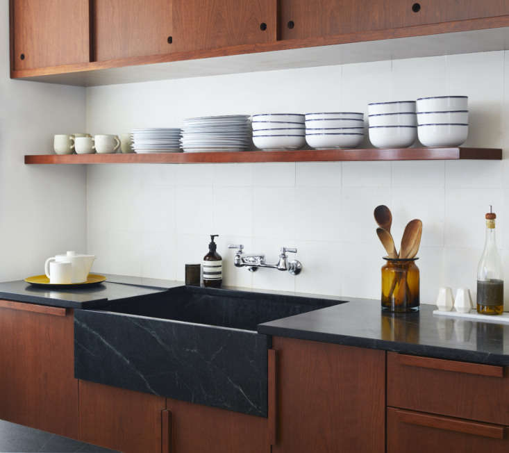 &#8\2\20;we love the custom cherry millwork, from the sliding panels to the 12