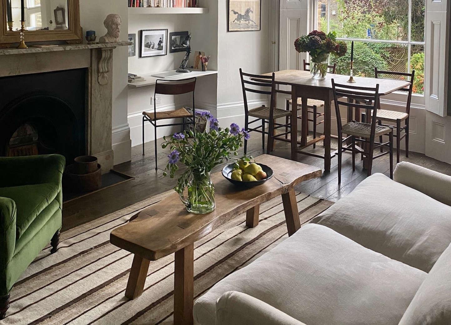 georgie stogdon curios shop london apartment living room3 crop