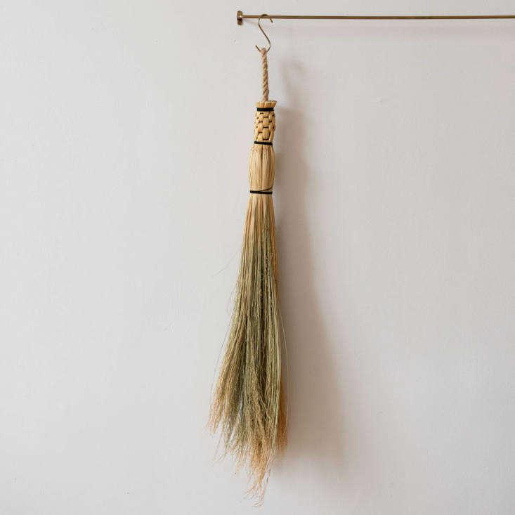Sailor Corn Broom by Prairie Breeze Folk Arts Studio via June Home Supply