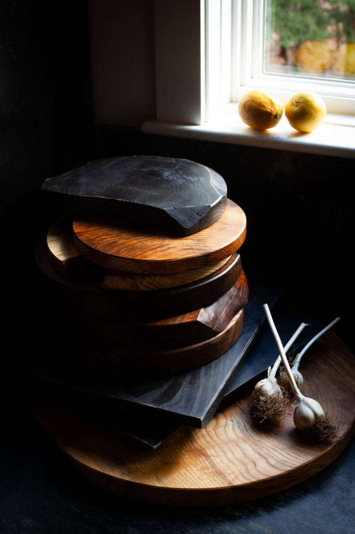 Catskills-based furniture designer Brian Persico also makes artful wood kitchen tools, including organically shaped cutting boards; prices start at $125.