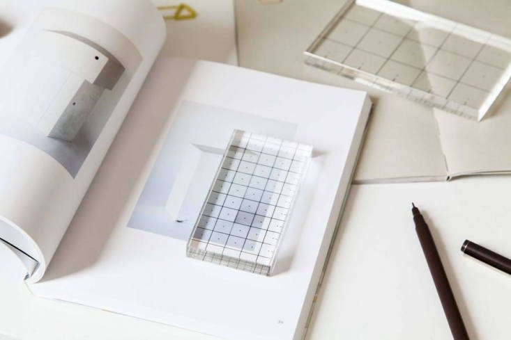 Glass Rulers by Allon Libermann and Hye Jin Ahn at Areaware
