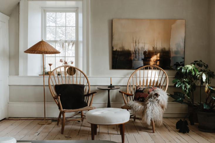 palette and textures from a remodelista favorite: an antique stone house revive 9