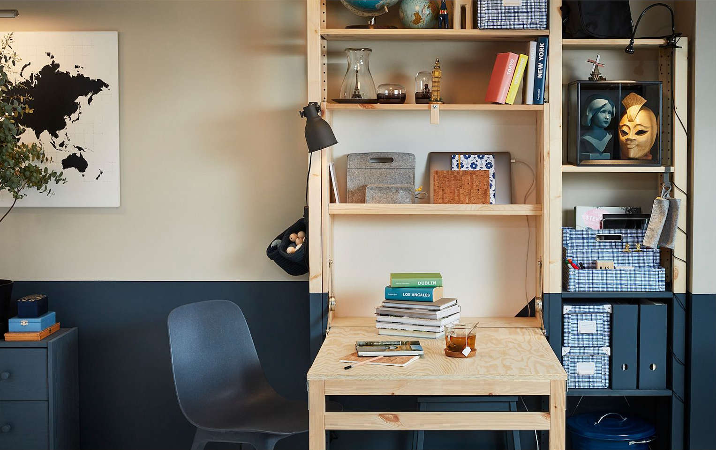 IKEA Ivar Storage Unit Foldable Table