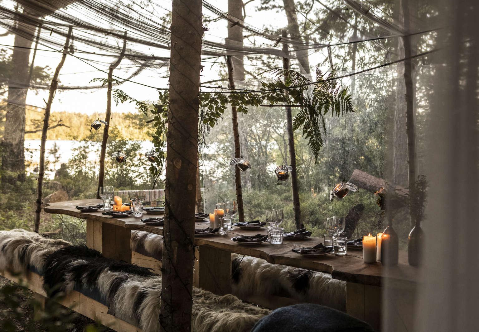 stedsans in the woods restaurant