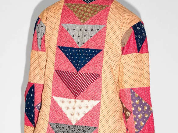 Bode Patchwork Quilted Jacket