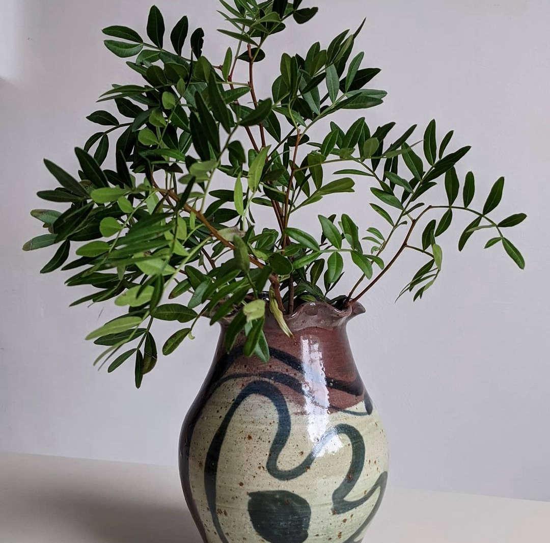 mudbelly ceramics phoebe collings james vase