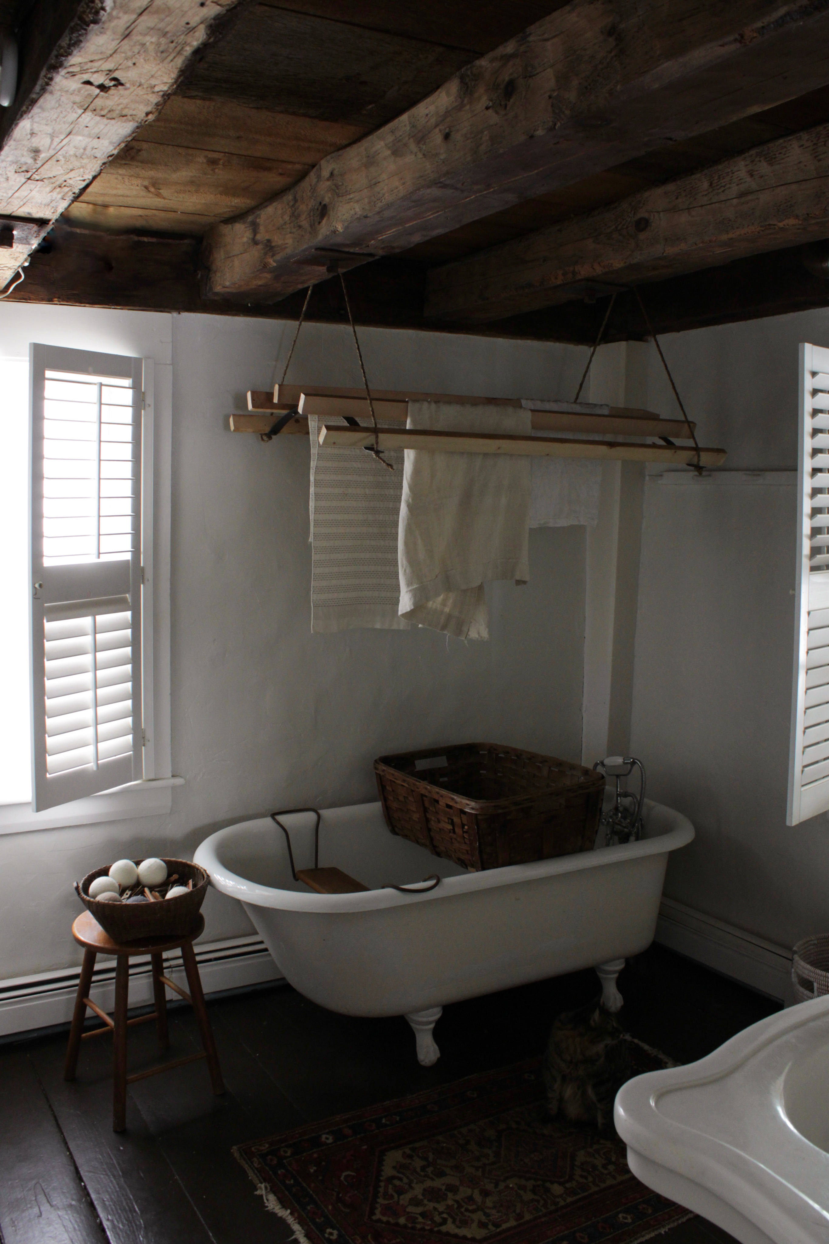 Finished Laundry Rack, Photo by Bess Piergrossi