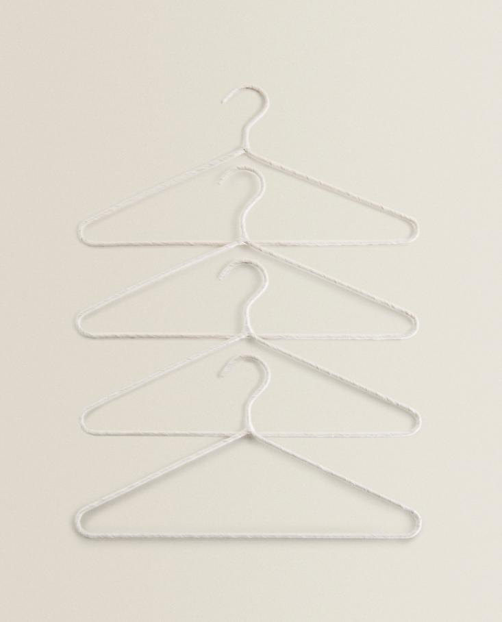 Beige Cotton Linen Hangers from Zara Home