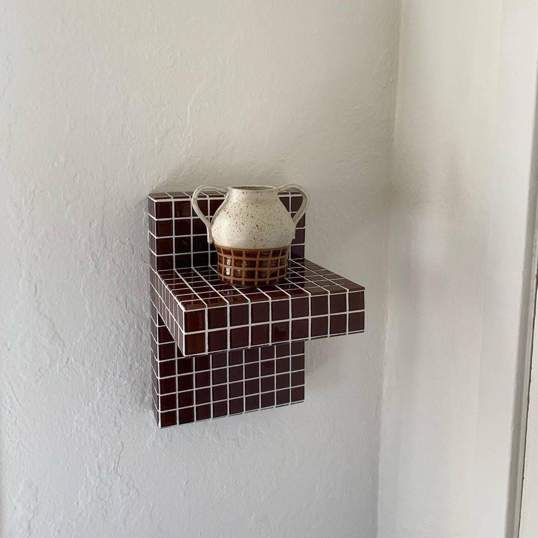 willow la tiled shelf 2