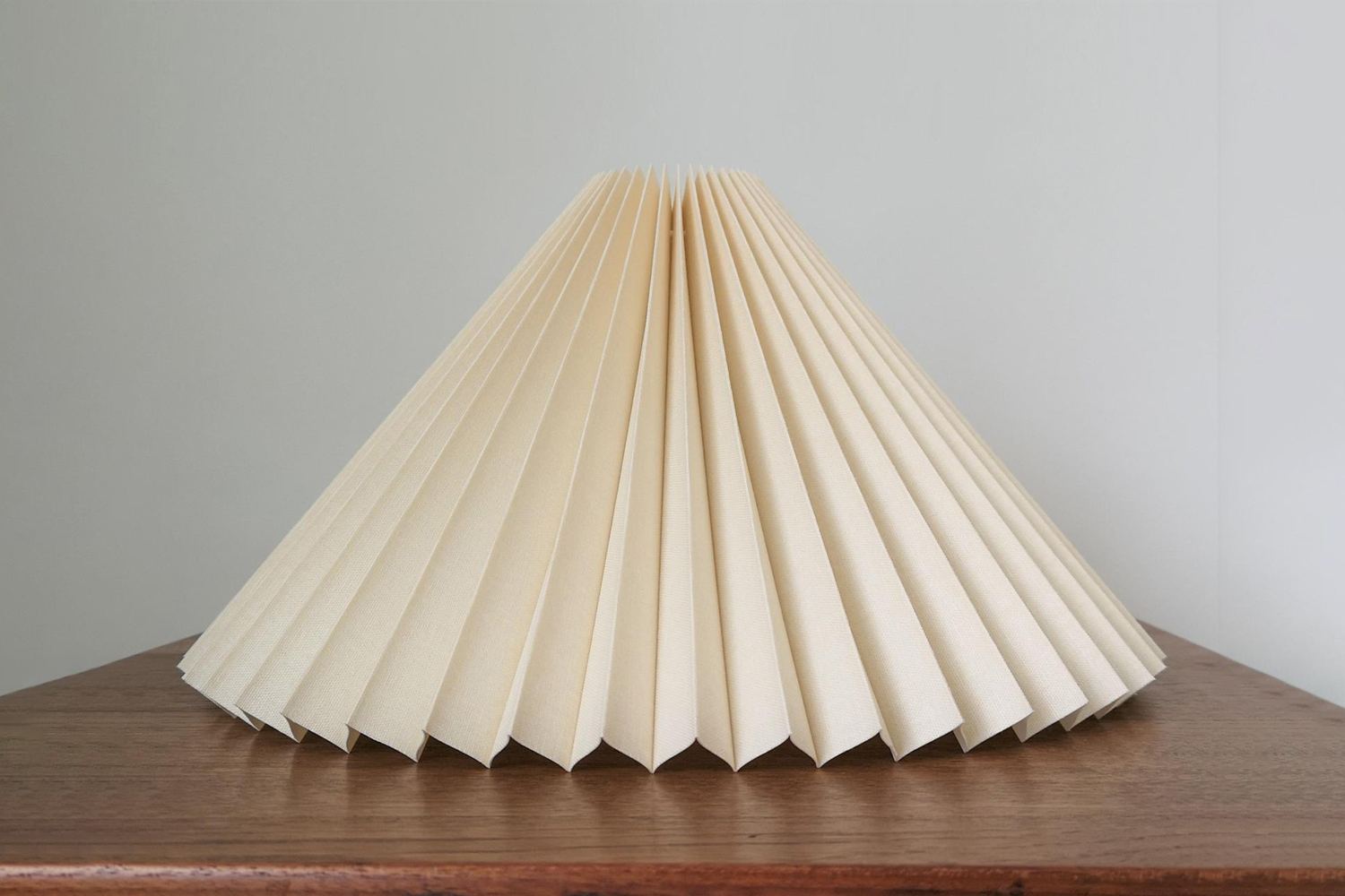 the clip on pleated lampshade white is \$65.39 at le krazy horse on etsy. 13