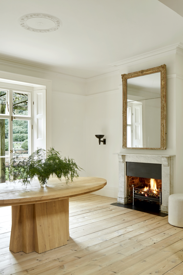 the oak oval table is another rose uniacke piece. 13