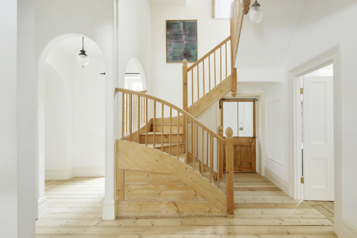 the house has a mix of the original pine floor and newly laid floor, all untrea 10