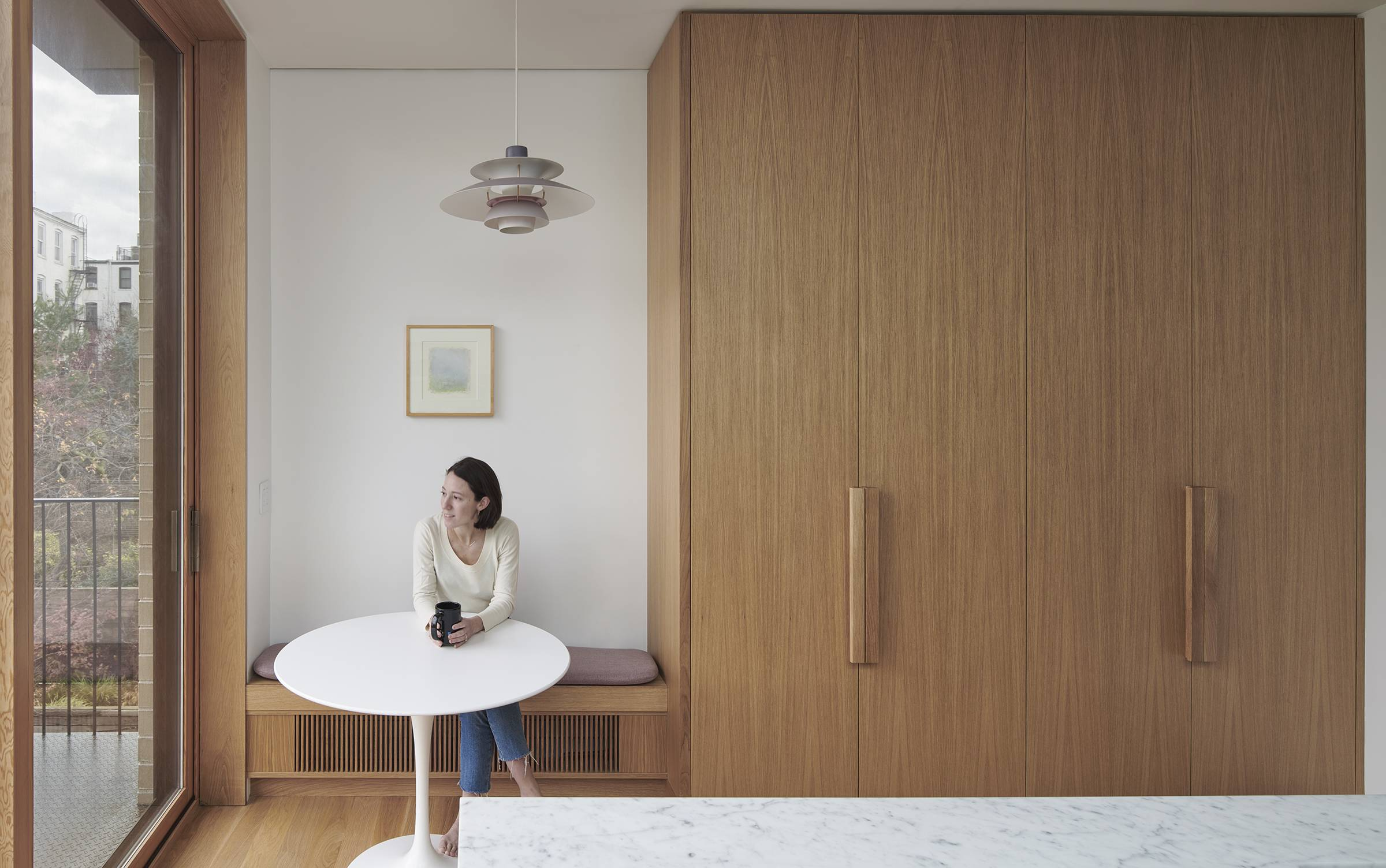Kitchen of the Week A Clients Narrow Childhood Home in Park Slope Gets an Airy Addition portrait 3