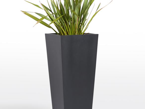 modern fiberstone tapered planter 14