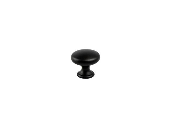 1 1/4 in.Berenson Hardware Diameter Knob – Black